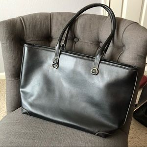 Handbags - Large black tote